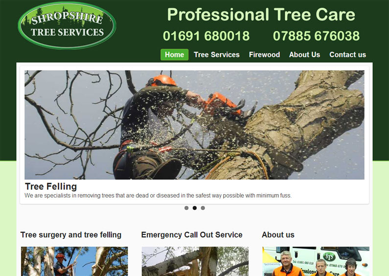 shropshire tree services