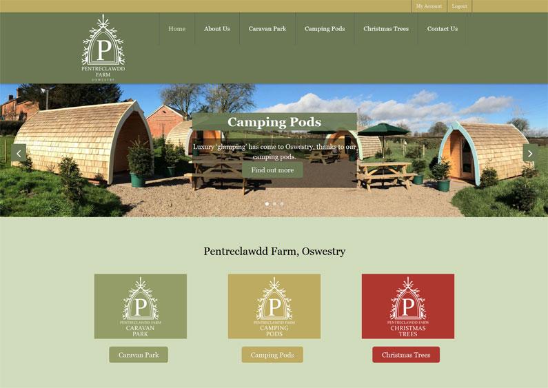 Pentreclawdd Farm, Oswestry