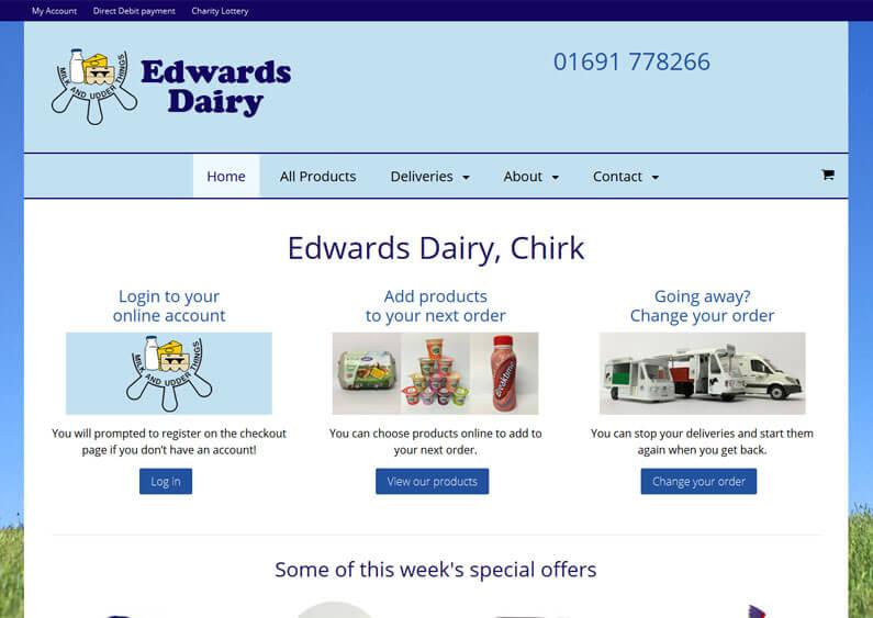 Edwards Dairy, Chirk