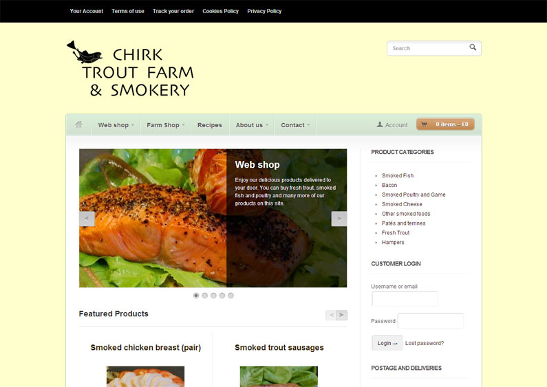 Chirk Trout Farm