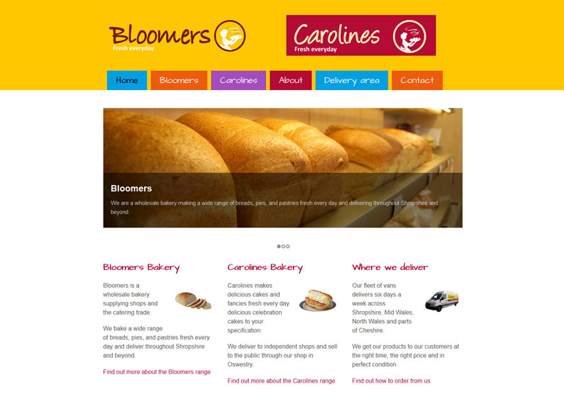 Bloomers and Carolines Bakery