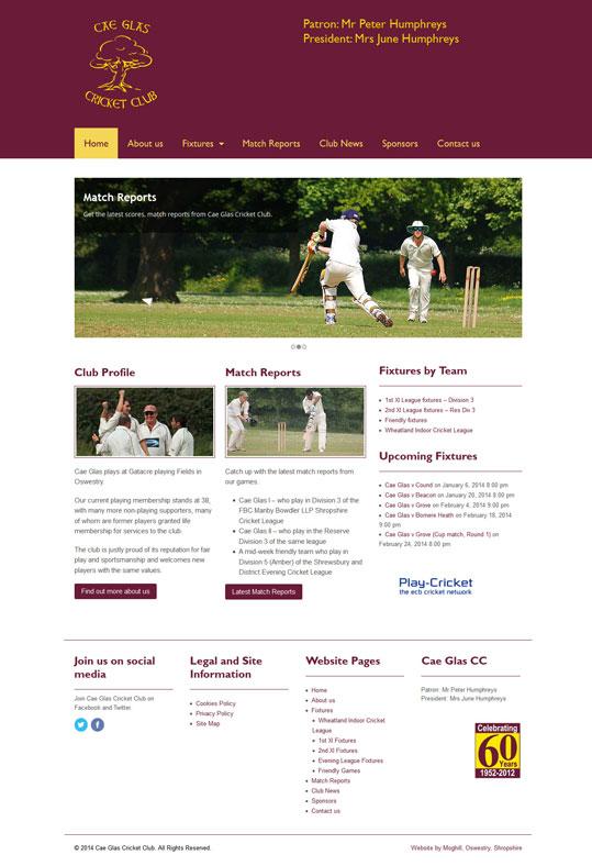 Cae Glas Cricket Club