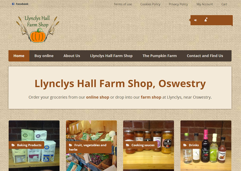 Llynclys Hall Farm Shop